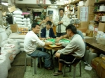 After hours mahjong in Sai Ying Pun